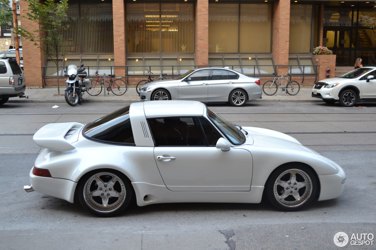 Porsche 964 Strosek Turbo Targa 15 November 2014 Autogespot