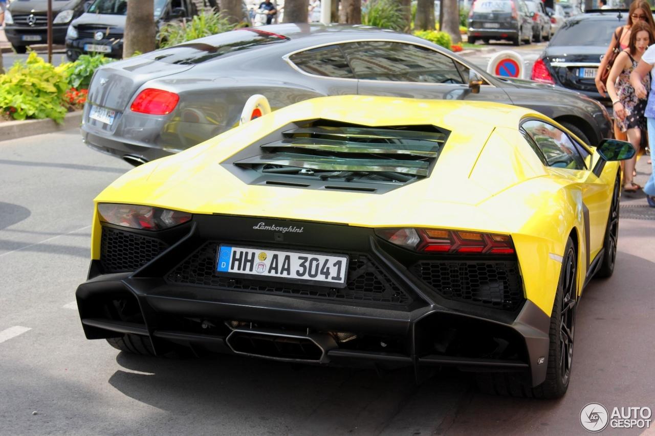 Lamborghini Aventador LP720-4 50° Anniversario 6
