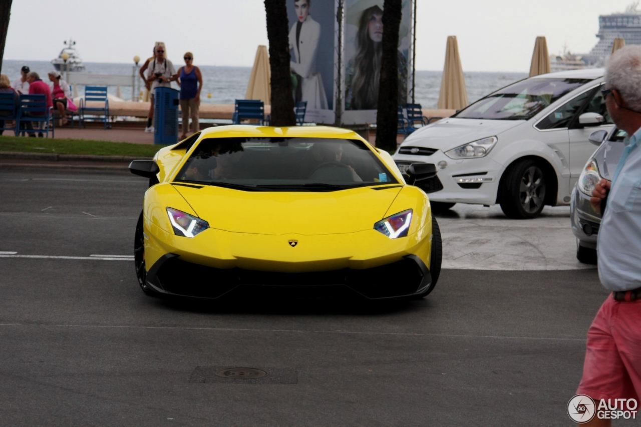 Lamborghini Aventador LP720-4 50° Anniversario 7