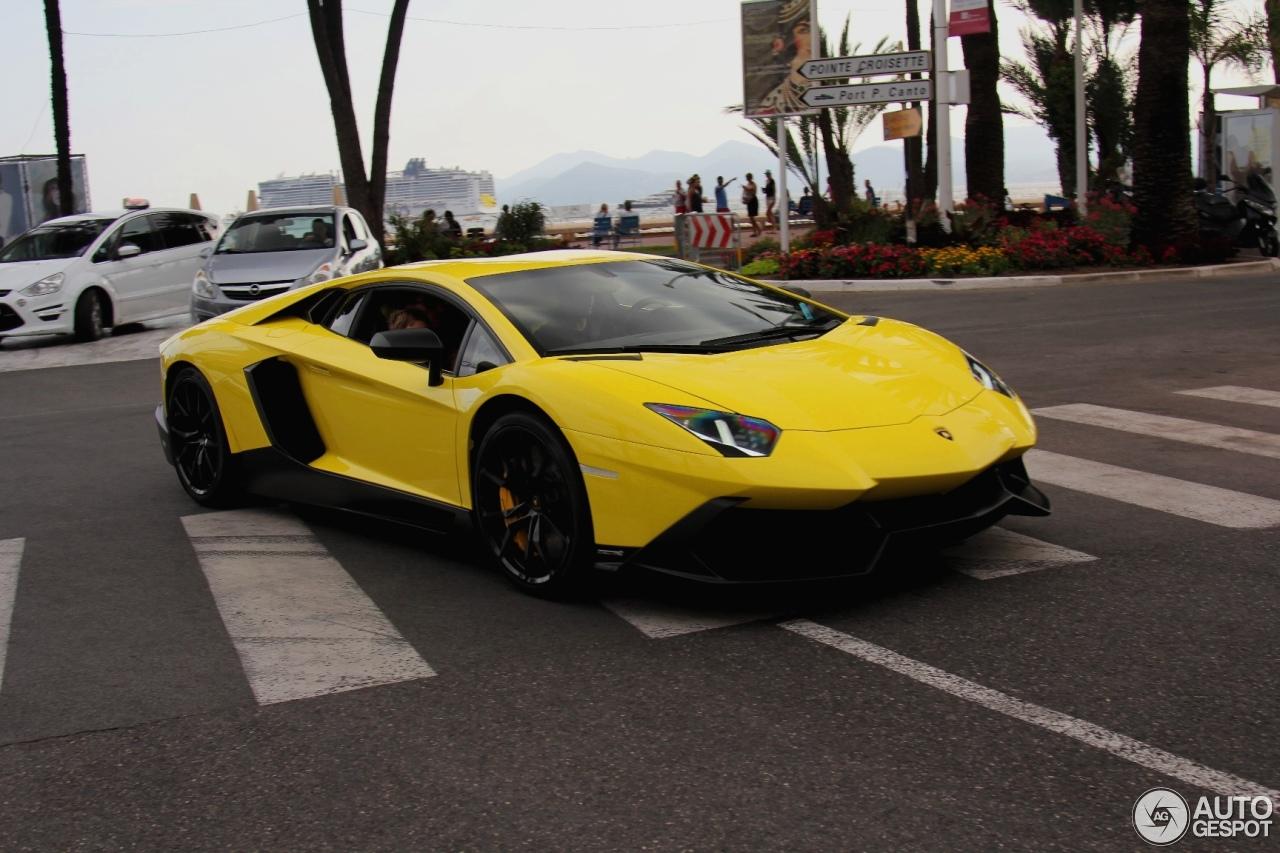 Lamborghini Aventador LP720-4 50° Anniversario 8