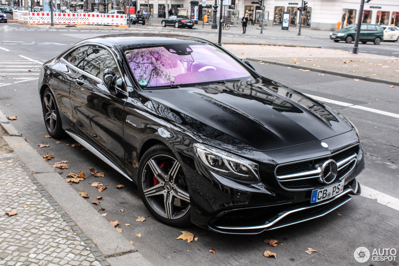 Mercedes benz s 63 amg coup c217 23 november 2014 for Mercedes benz cl65 amg coupe