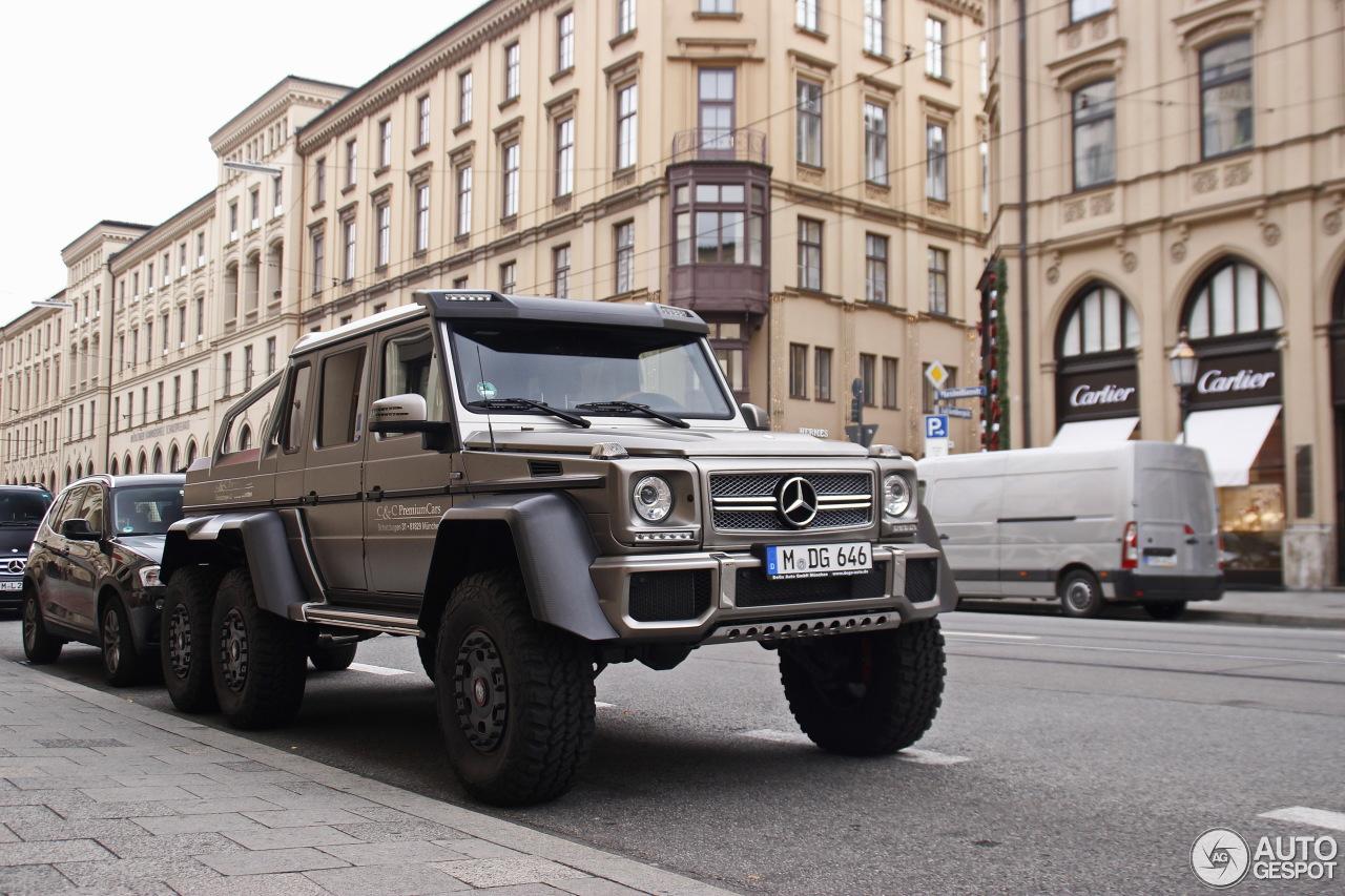 Mercedes-Benz G 63 AMG 6x6 2