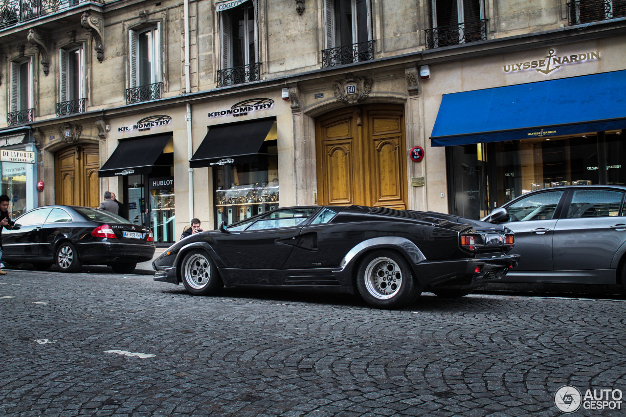 lamborghini countach 25th anniversary 29 novembre 2014 autogespot. Black Bedroom Furniture Sets. Home Design Ideas