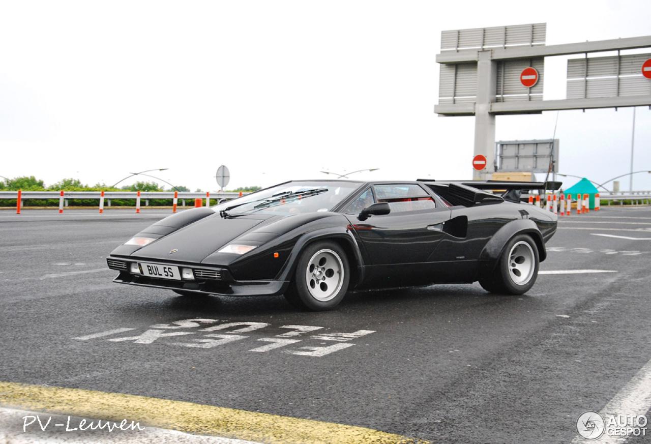 Lamborghini Countach 5000 Quattrovalvole 29 November