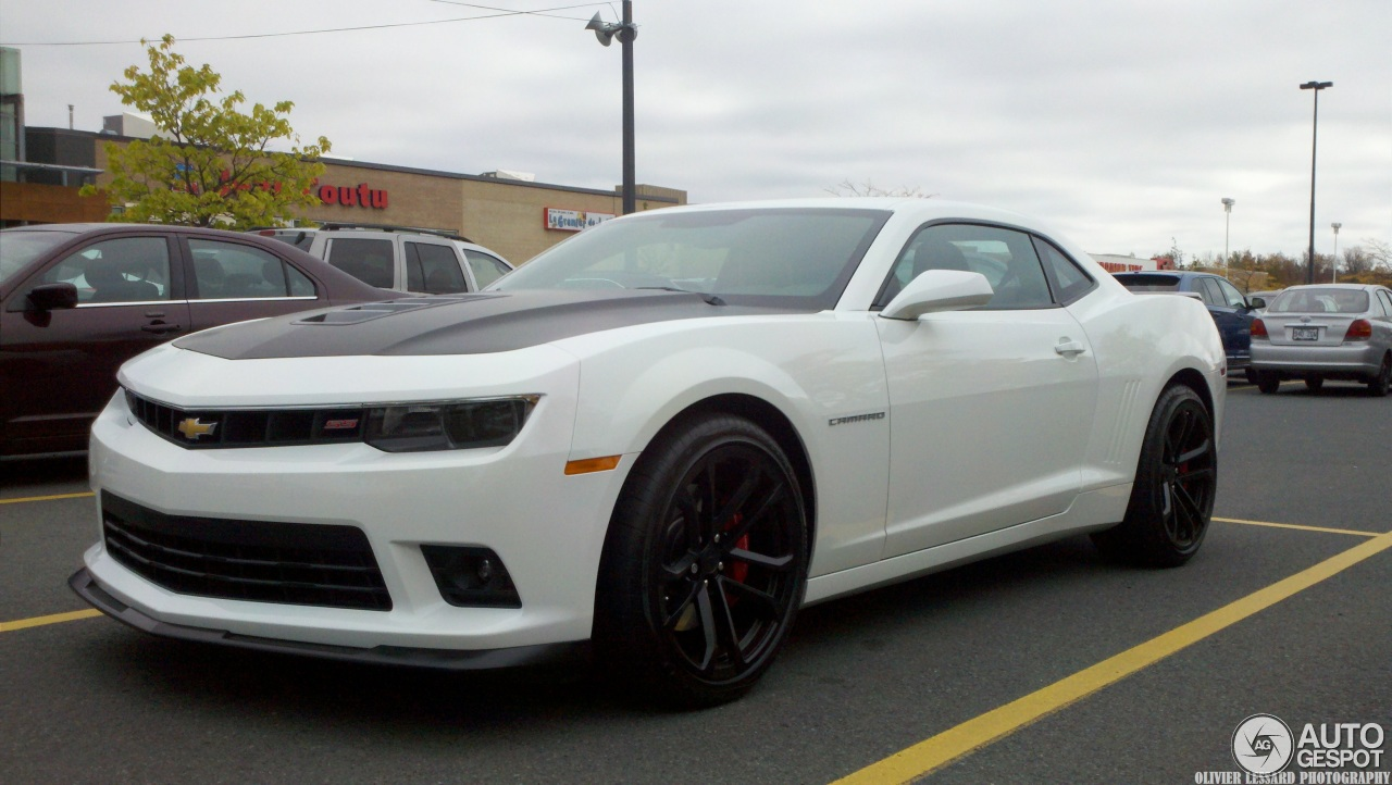 2014 Chevrolet Camaro Ss 1le On Z28 Tires Side Profile Photo 10 ...