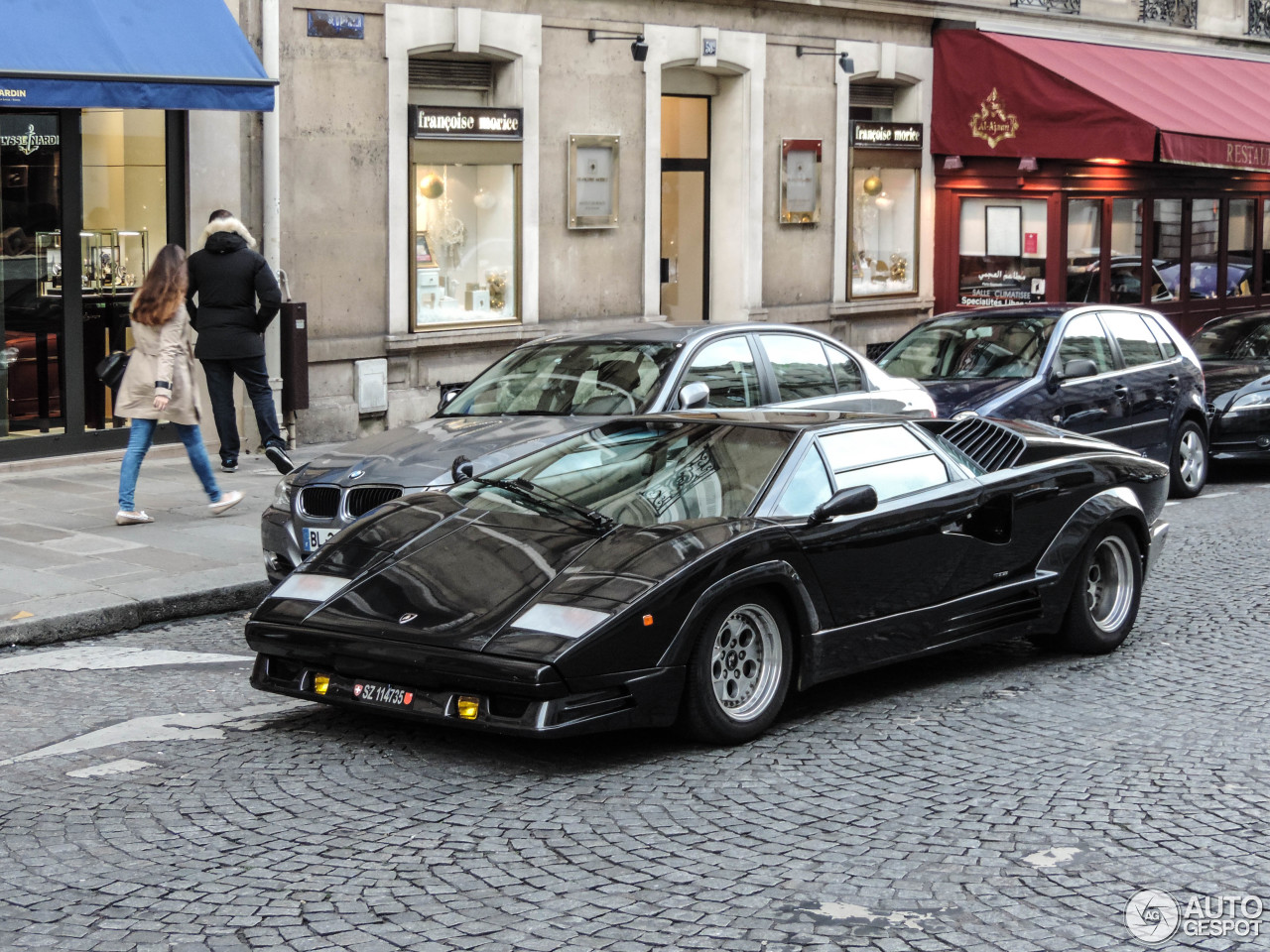 lamborghini countach 25th anniversary 1 dezember 2014 autogespot. Black Bedroom Furniture Sets. Home Design Ideas