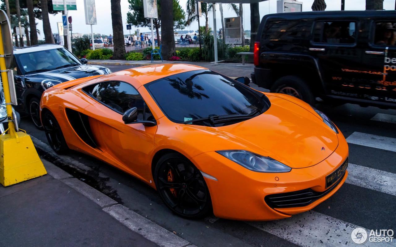 McLaren 12C 8