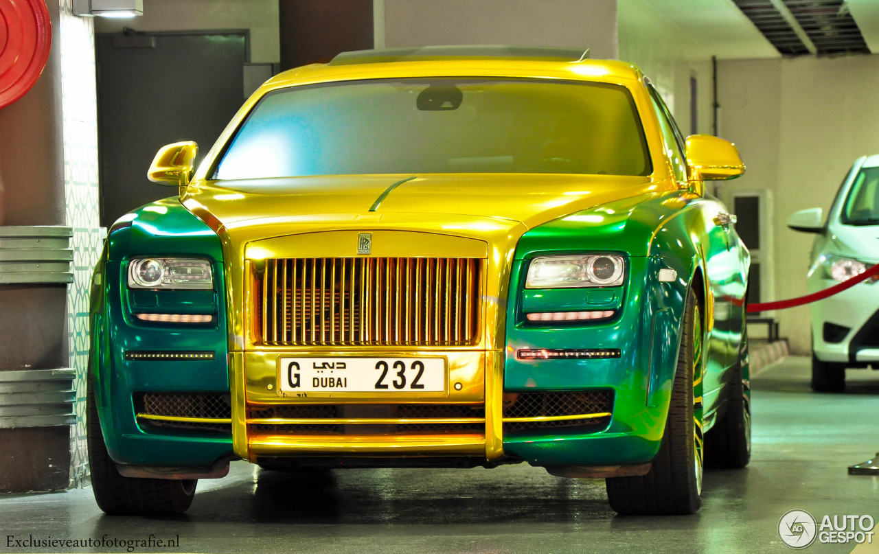 Rolls Royce Mansory White Ghost Limited 9 December 2014