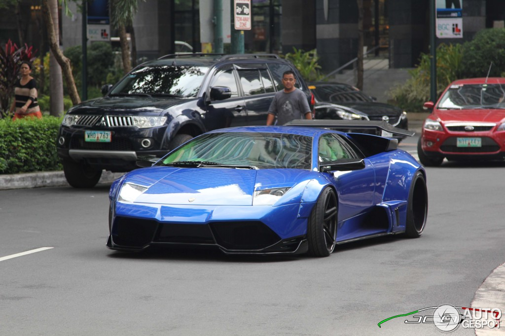 Lamborghini Murcielago Lp640 Liberty Walk Lb Performance Wide Body
