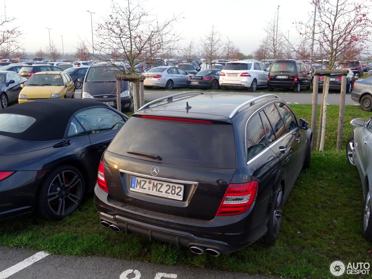 Mercedes-Benz C 63 AMG Estate 2012 2
