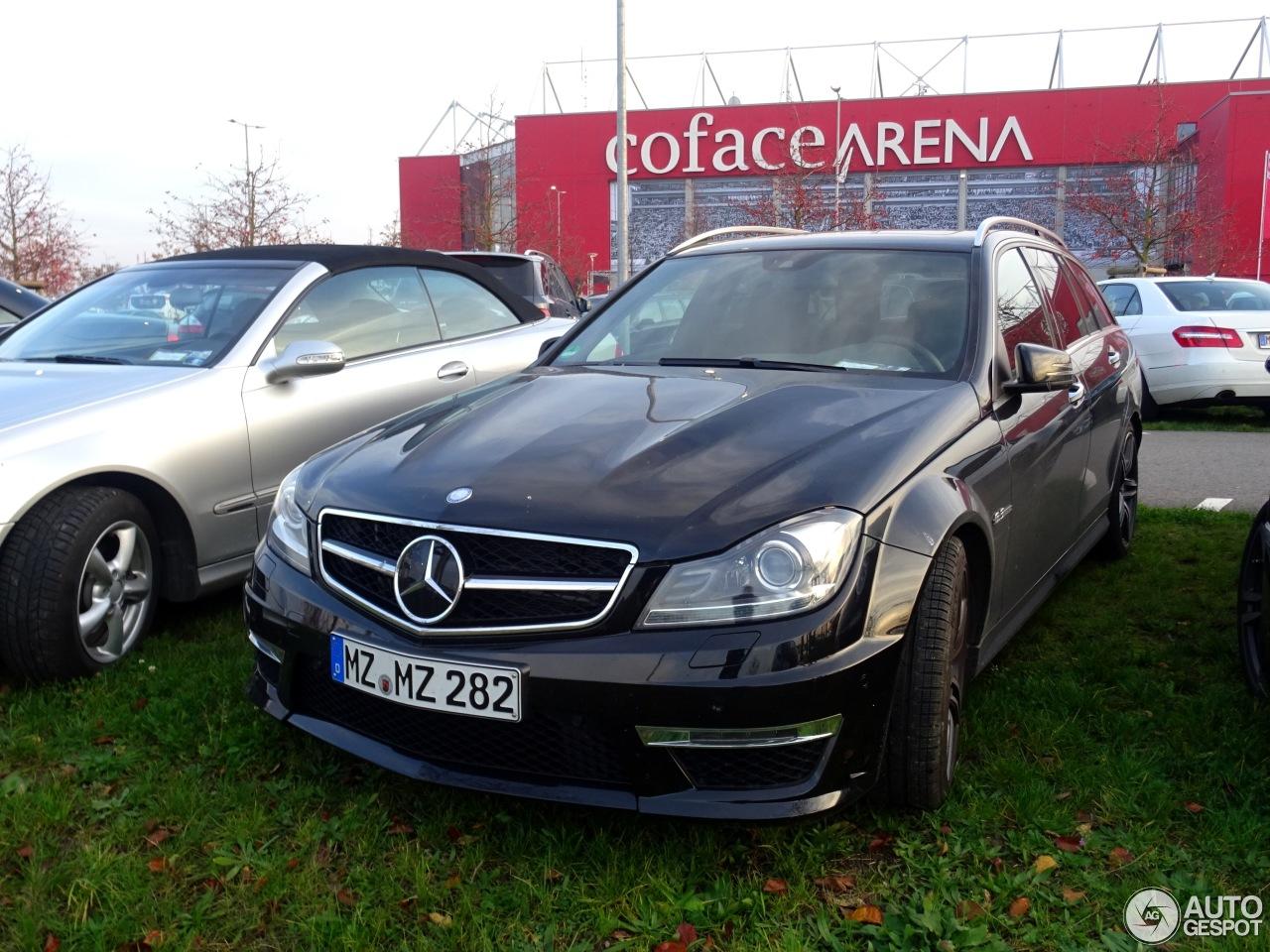 Mercedes-Benz C 63 AMG Estate 2012 4