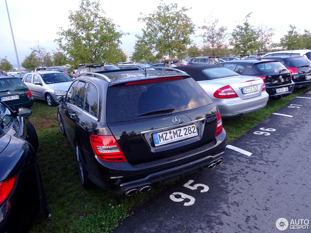 Mercedes-Benz C 63 AMG Estate 2012 7