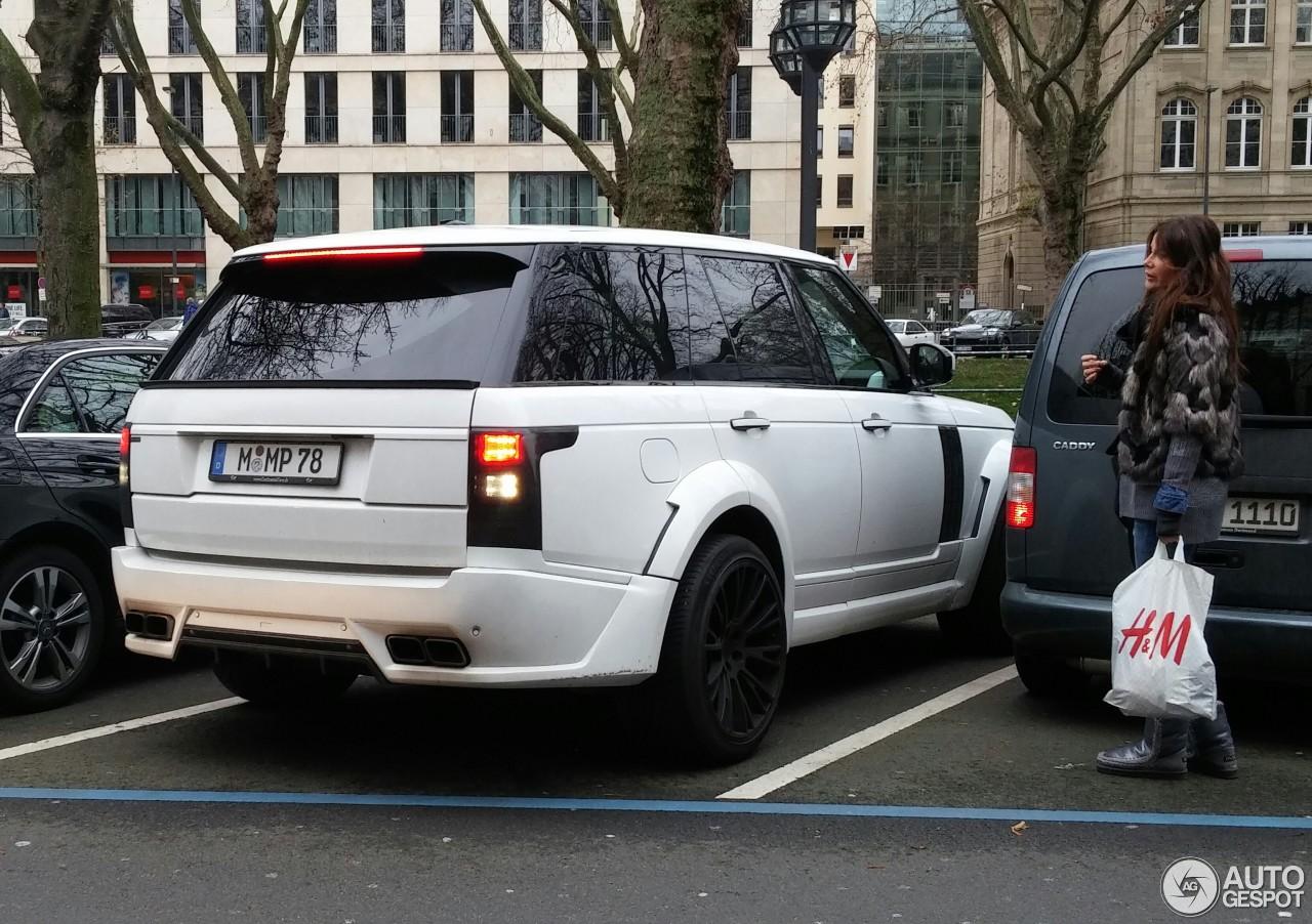 Land Rover Range Rover Lumma Clr R 15 December 2014
