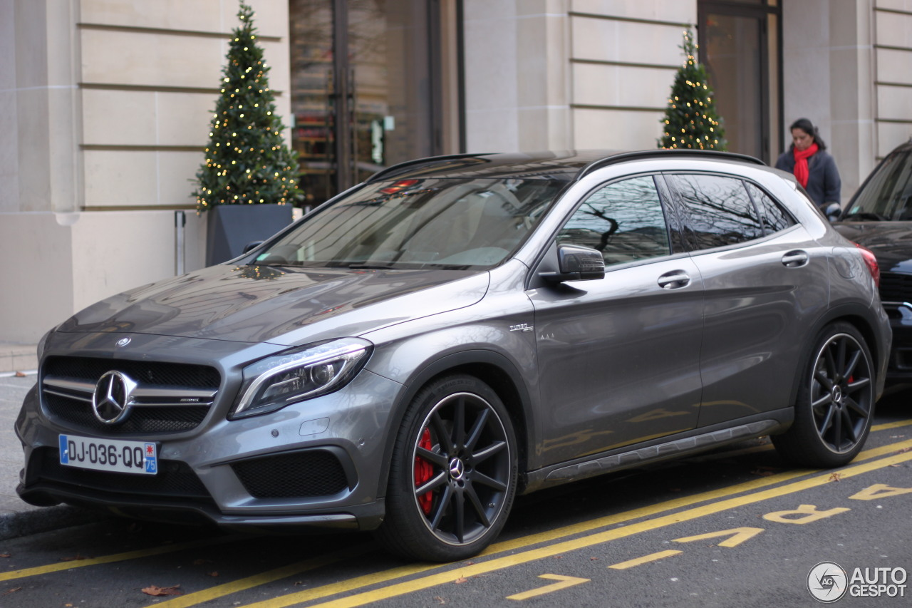 mercedes benz gla 45 amg x156 15 december 2014 autogespot. Black Bedroom Furniture Sets. Home Design Ideas