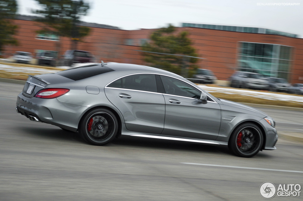 Mercedes-Benz CLS 63 AMG S C218 2015 - 18 December 2014 - Autogespot