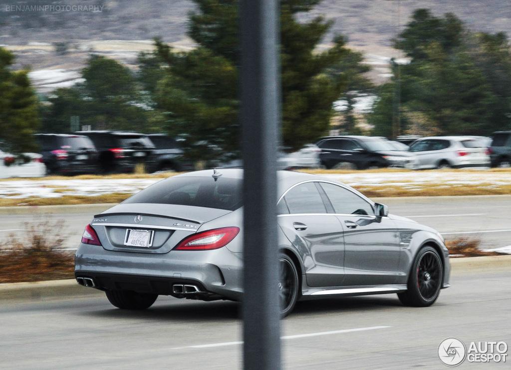 Mercedes benz cls 63 amg s c218 2015 18 december 2014 for 2014 mercedes benz cls550 0 60