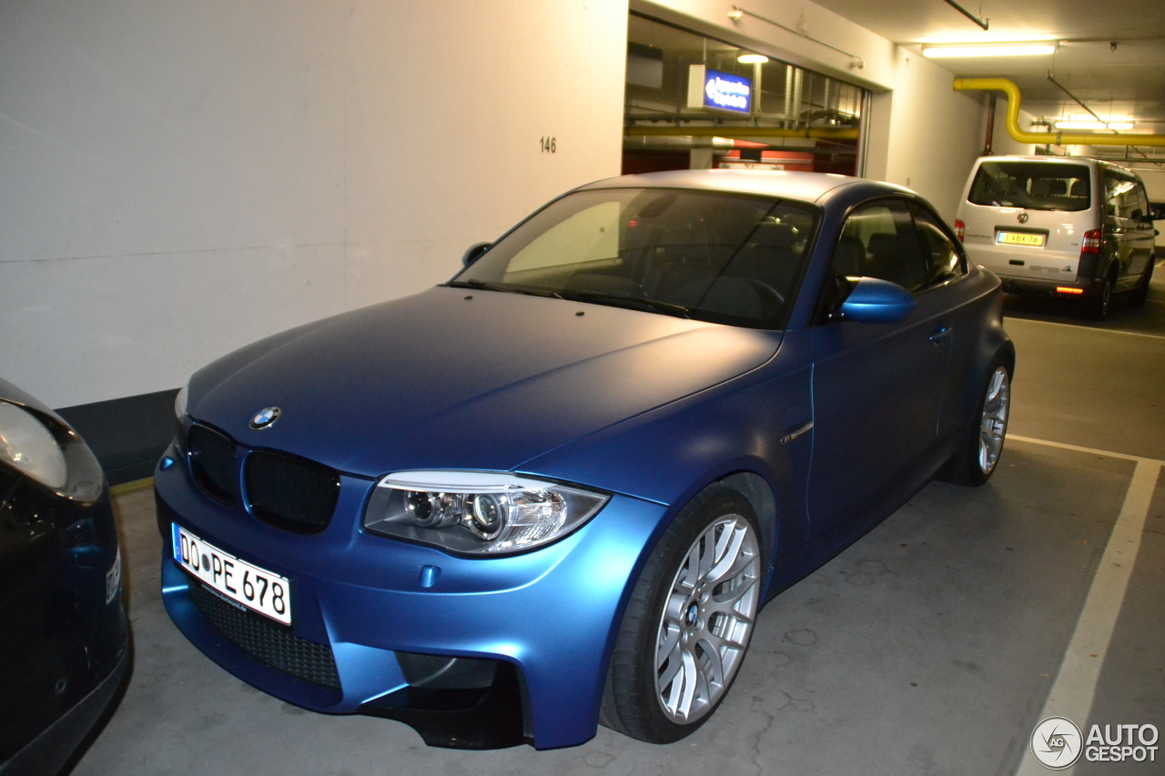 bmw 1 series m coup 20 december 2014 autogespot. Black Bedroom Furniture Sets. Home Design Ideas