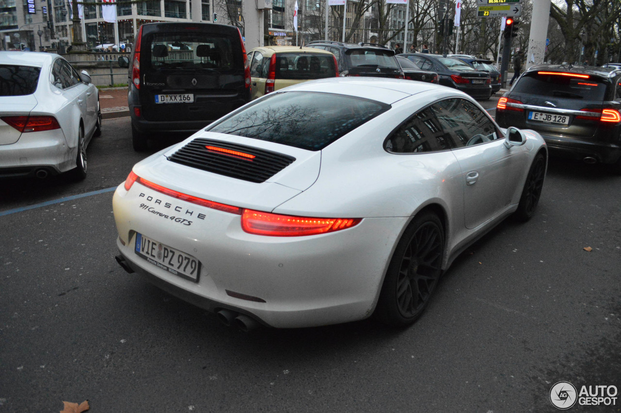 Porsche 991 Carrera 4 Gts 20 December 2014 Autogespot