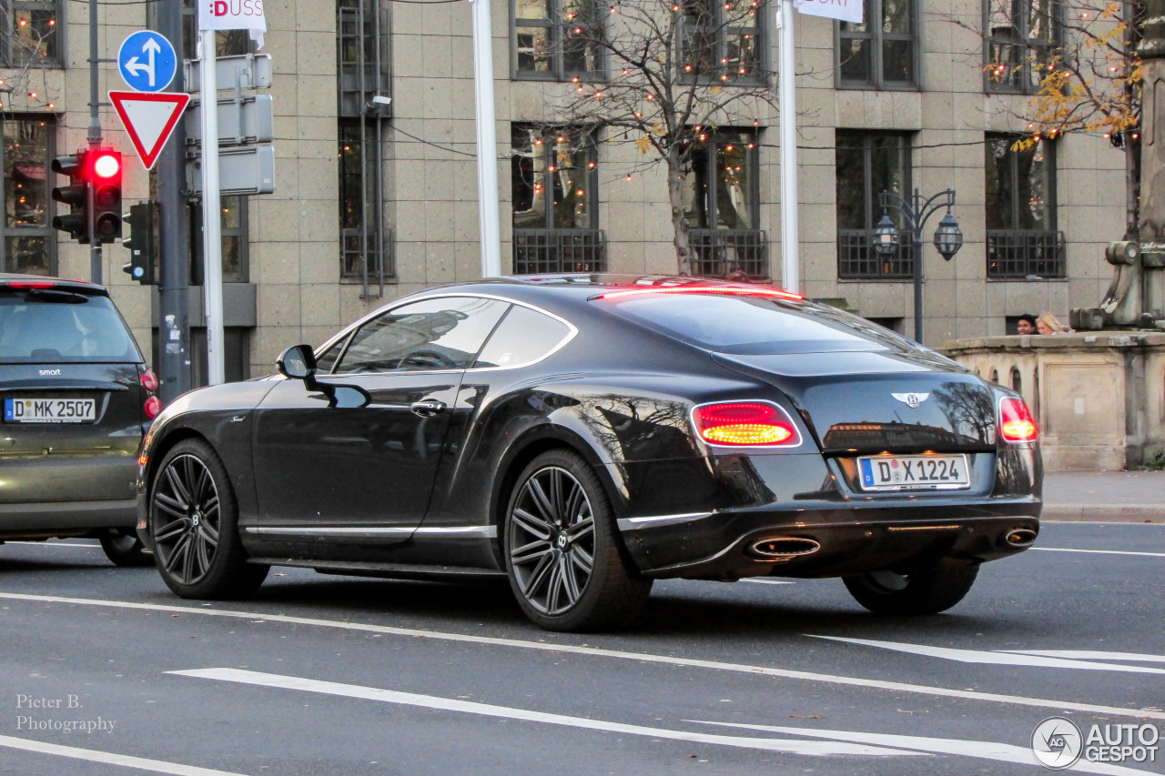 bentley continental gt speed 2015 22 december 2014 autogespot. Cars Review. Best American Auto & Cars Review