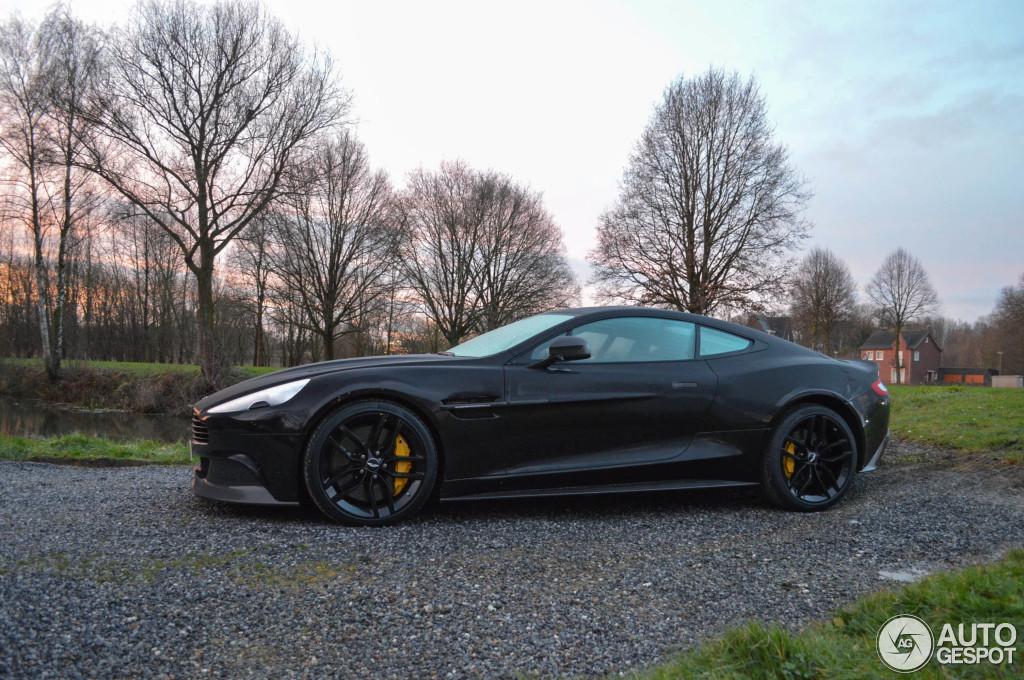 2015 Aston Martin Vanquish Black