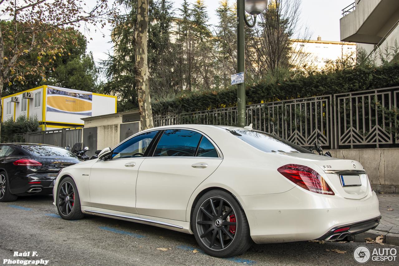 5 I Mercedes Benz S 63 Amg W222