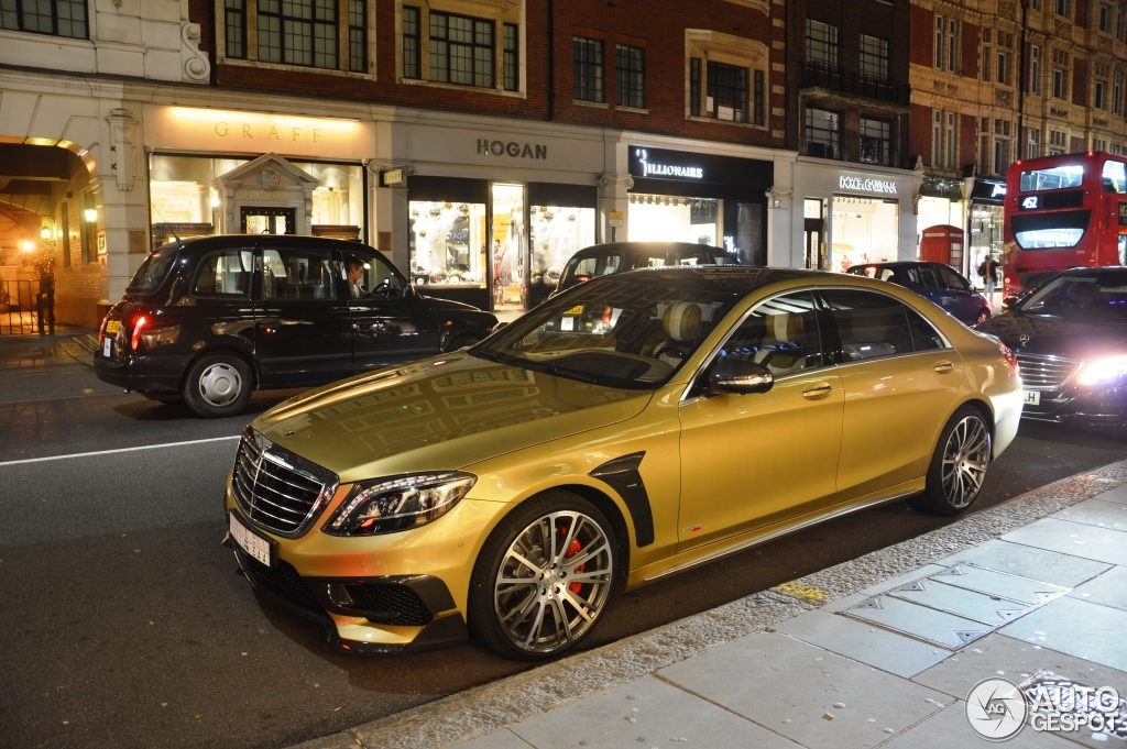 Mercedes Benz Brabus 850 6 0 Biturbo V222 30 December 2014