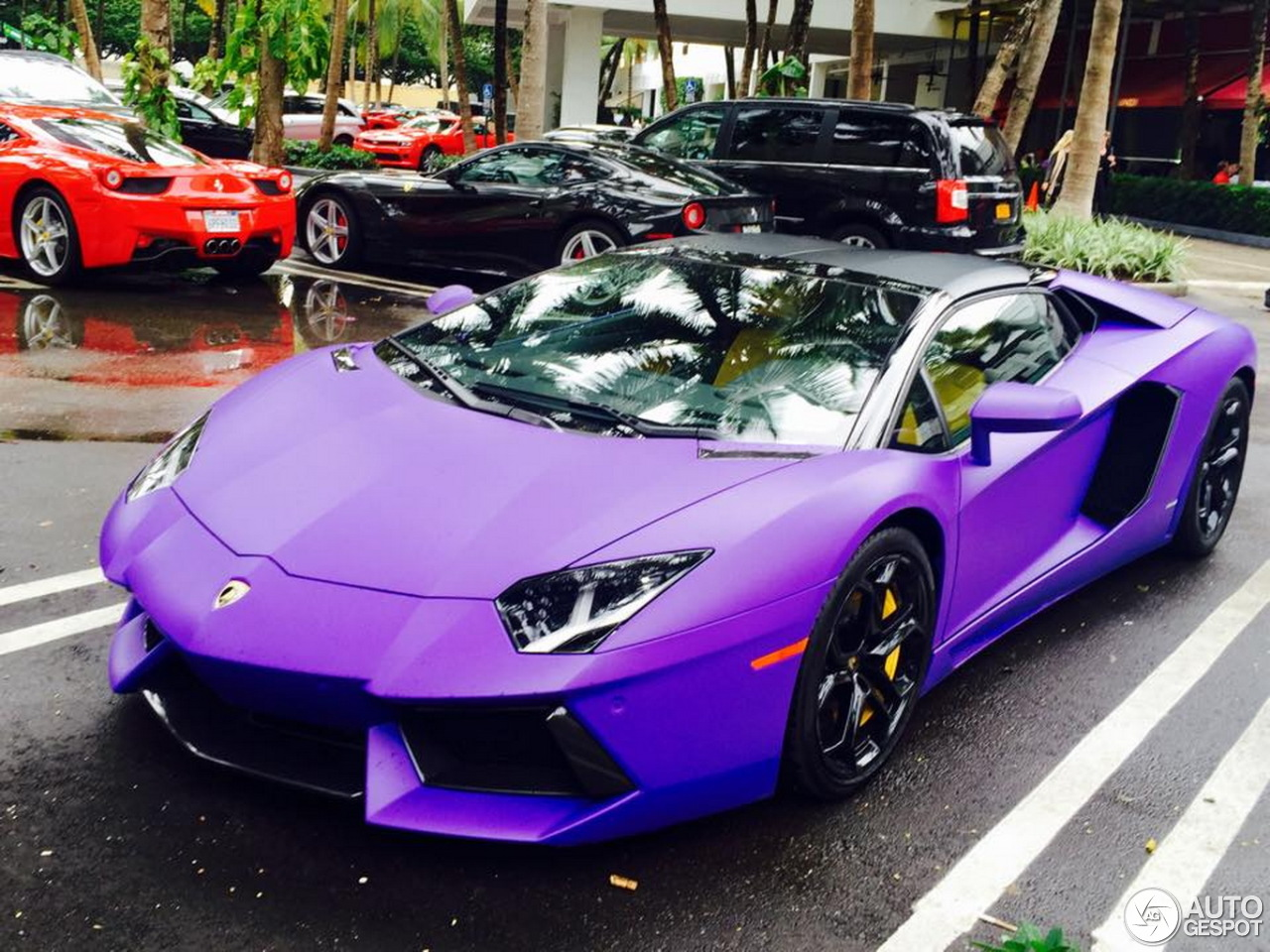 Purple Lamborghini Aventador Pictures to Pin on Pinterest ...