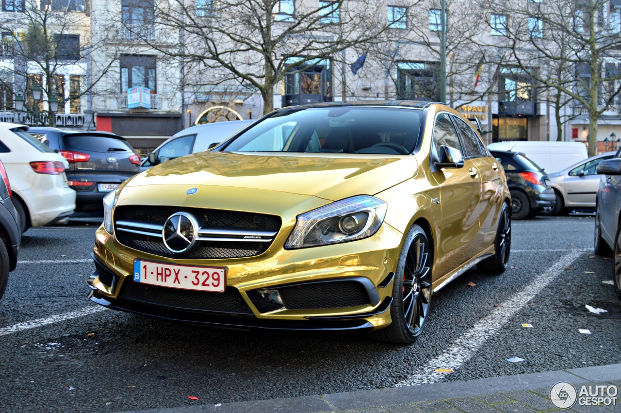 Mercedes benz a 45 amg 31 december 2014 autogespot for Mercedes benz a 45