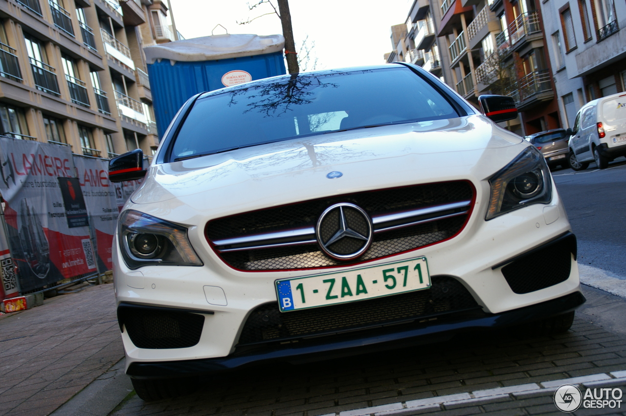 mercedes benz cla 45 amg edition 1 c117 2 januari 2014 autogespot. Black Bedroom Furniture Sets. Home Design Ideas