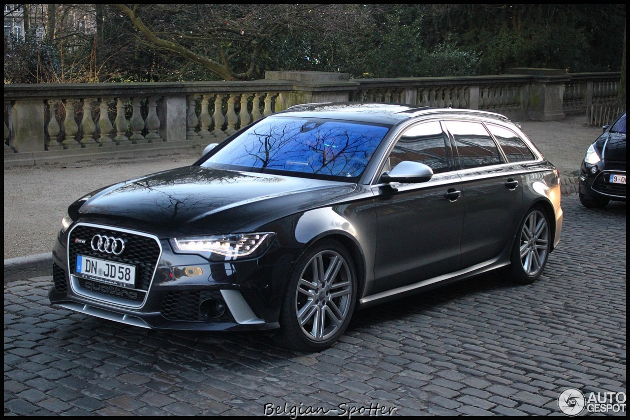 audi rs6 avant c7 12 january 2014 autogespot. Black Bedroom Furniture Sets. Home Design Ideas
