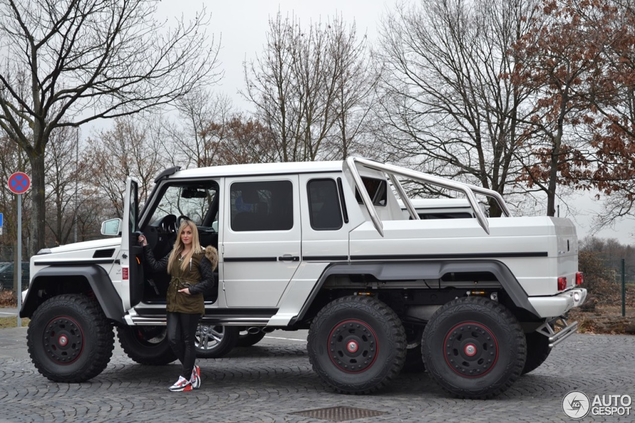 Mercedes benz g 63 amg 6x6 13 janvier 2014 autogespot for Mercedes benz amg 6 3