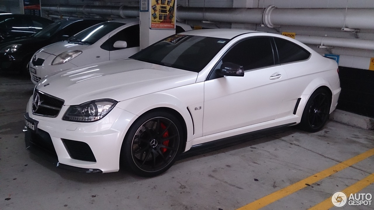 Mercedes benz c 63 amg coup black series 17 january for 2014 mercedes benz c63 amg coupe