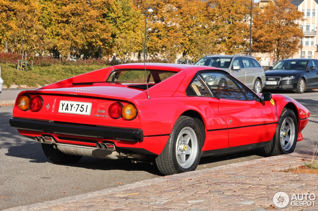 ferrari 308 gtb quattrovalvole 25 january 2014 autogespot. Black Bedroom Furniture Sets. Home Design Ideas