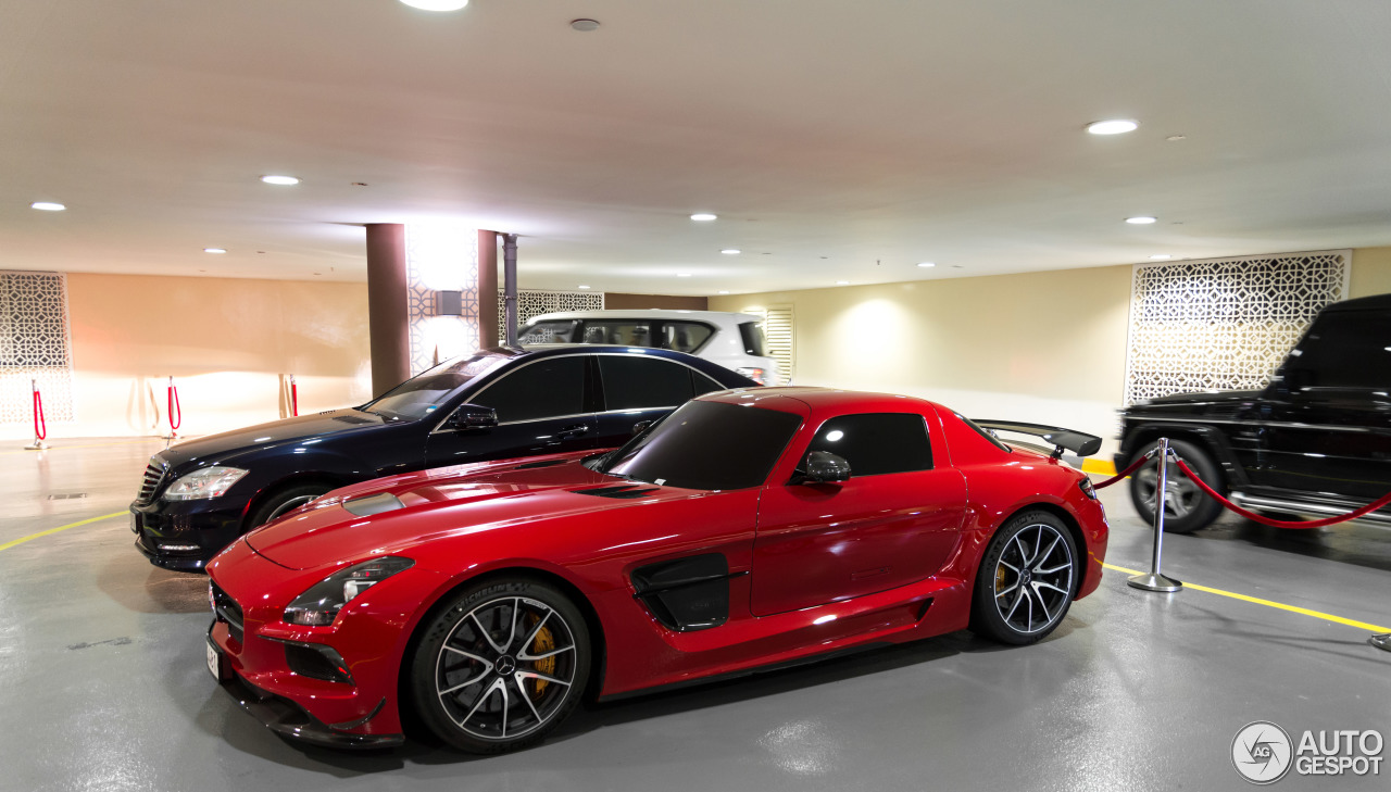 Mercedes Benz Sls Amg Black Series 25 Januar 2014