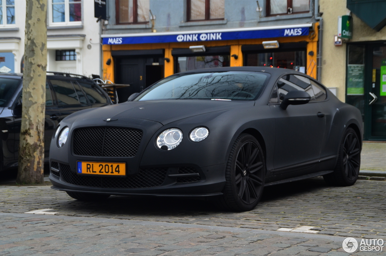 Bentley Continental Gt Speed 2012 12 Fvrier 2014