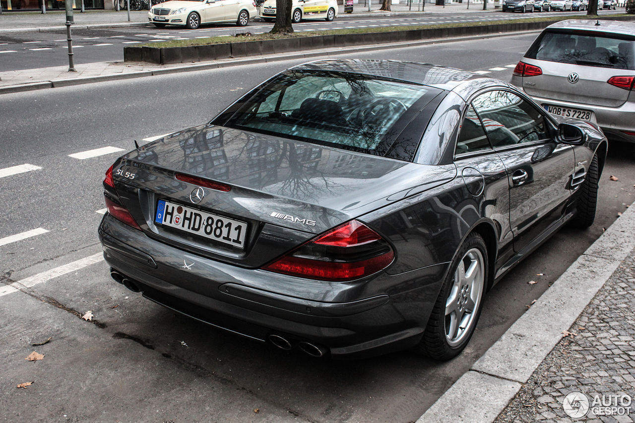 mercedes benz sl 55 amg r230 17 february 2014 autogespot. Black Bedroom Furniture Sets. Home Design Ideas
