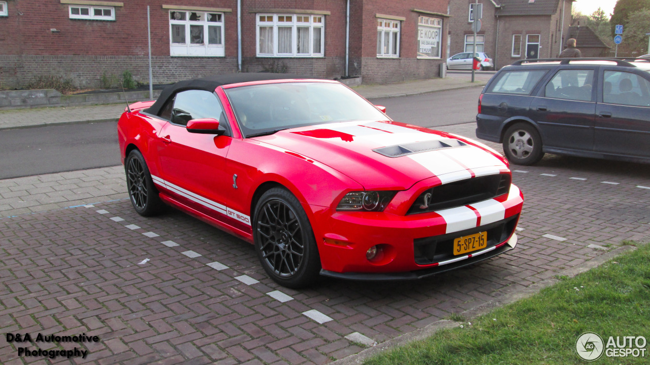 Ford Mustang Shelby GT500 Convertible 2014 - 19 February ...