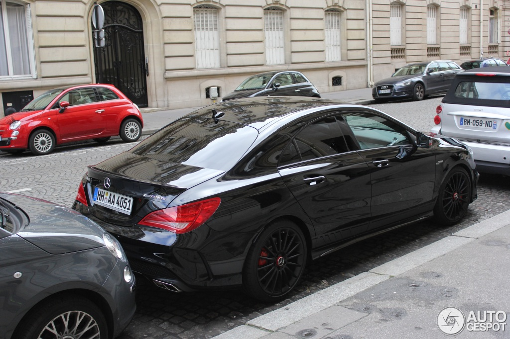mercedes benz cla 45 amg edition 1 c117 22 fvrier 2014 autogespot. Black Bedroom Furniture Sets. Home Design Ideas