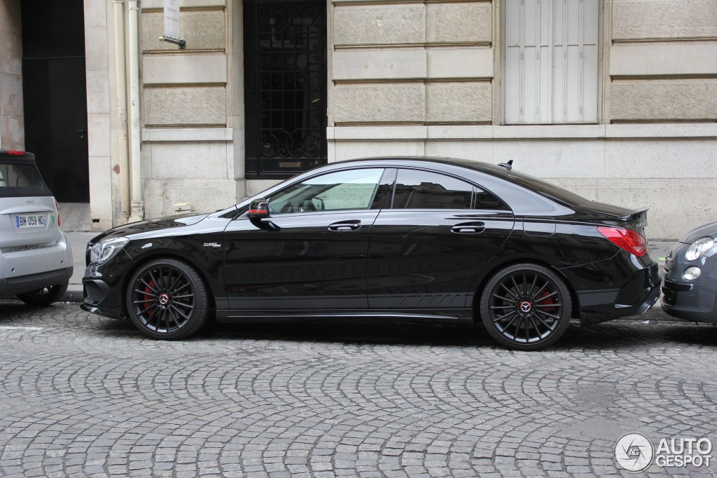 mercedes benz cla 45 amg edition 1 c117 22 february 2014 autogespot. Black Bedroom Furniture Sets. Home Design Ideas