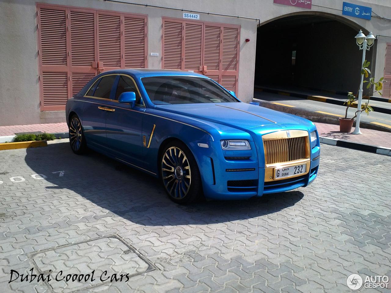 Rolls Royce Mansory White Ghost Limited 26 Februar 2014 Autogespot