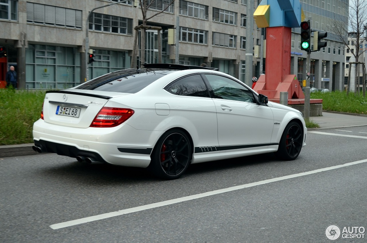 Mercedes benz c 63 amg coup edition 507 7 march 2014 for 2014 mercedes benz c63 amg edition 507 for sale