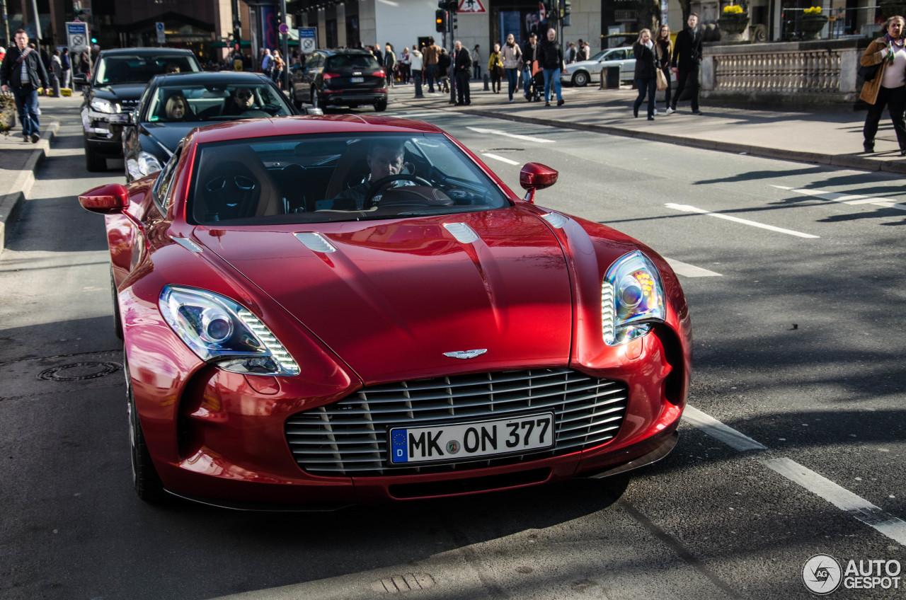 Aston Martin One 77 11 M Rz 2014 Autogespot