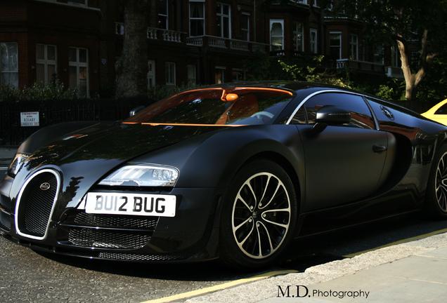 Bugatti Veyron 16.4 Super Sport Sang Noir