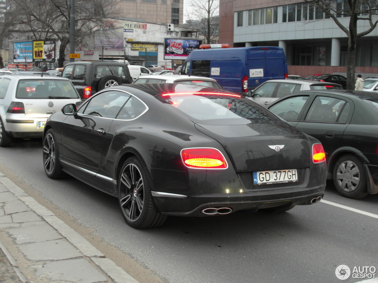 Bentley Continental Gt V8 S 18 Marzec 2014 Autogespot