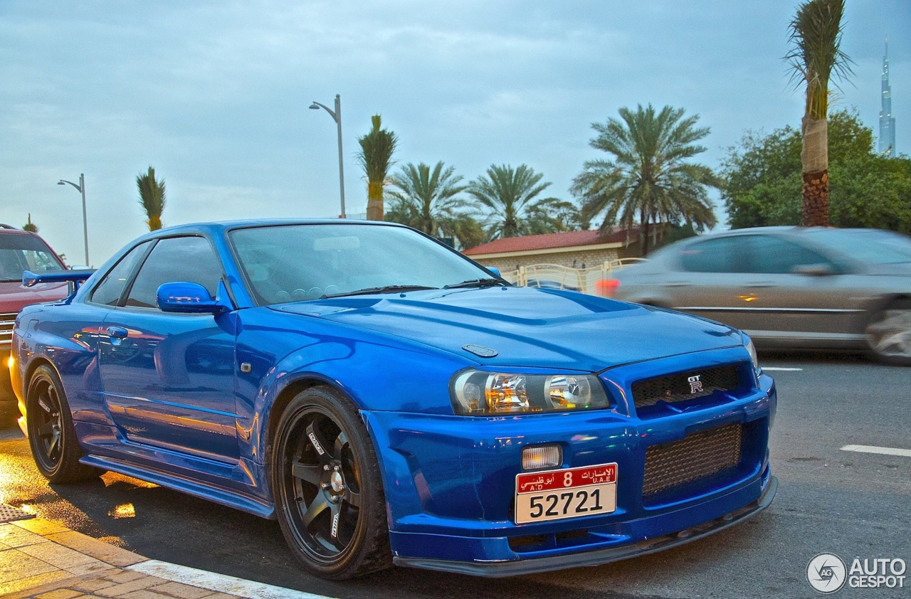 Nissan Skyline R34 Gt R V Spec 26 March 2014 Autogespot
