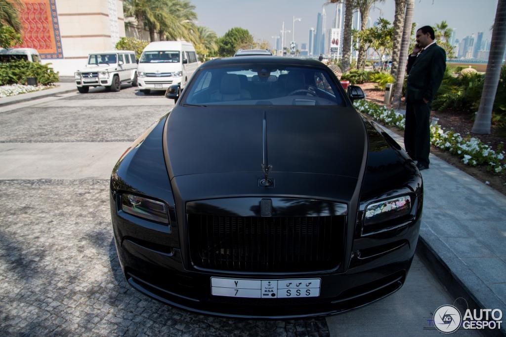 Customized Plates For Cars Rolls-Royce Wraith - 30 March 2014 - Autogespot