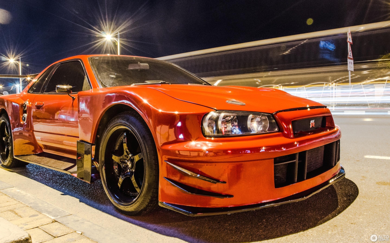 Nissan Skyline R34 GT R V Spec II Nür
