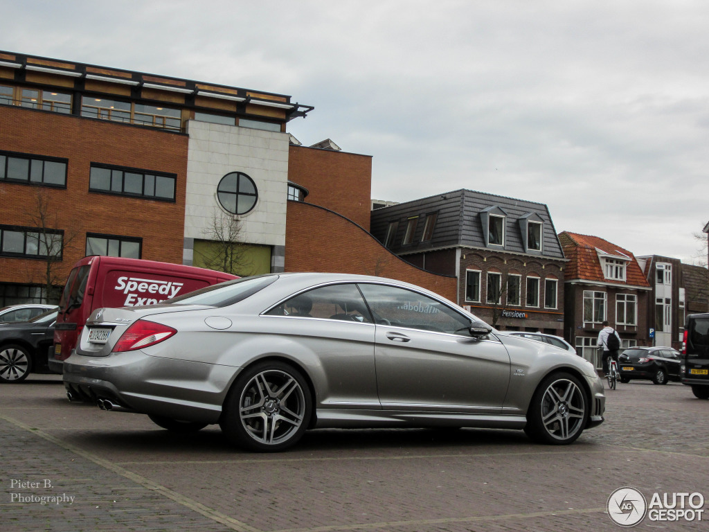 Mercedes benz cl 65 amg c216 40th anniversary edition 7 for Mercedes benz cl 65 amg