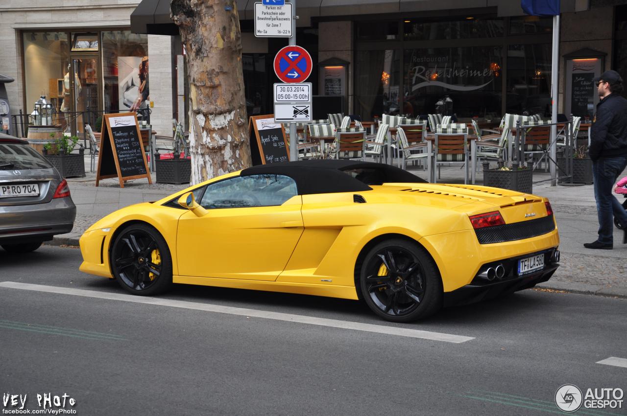 Lamborghini Gallardo LP5604 Spyder  9 April 2014  Autogespot