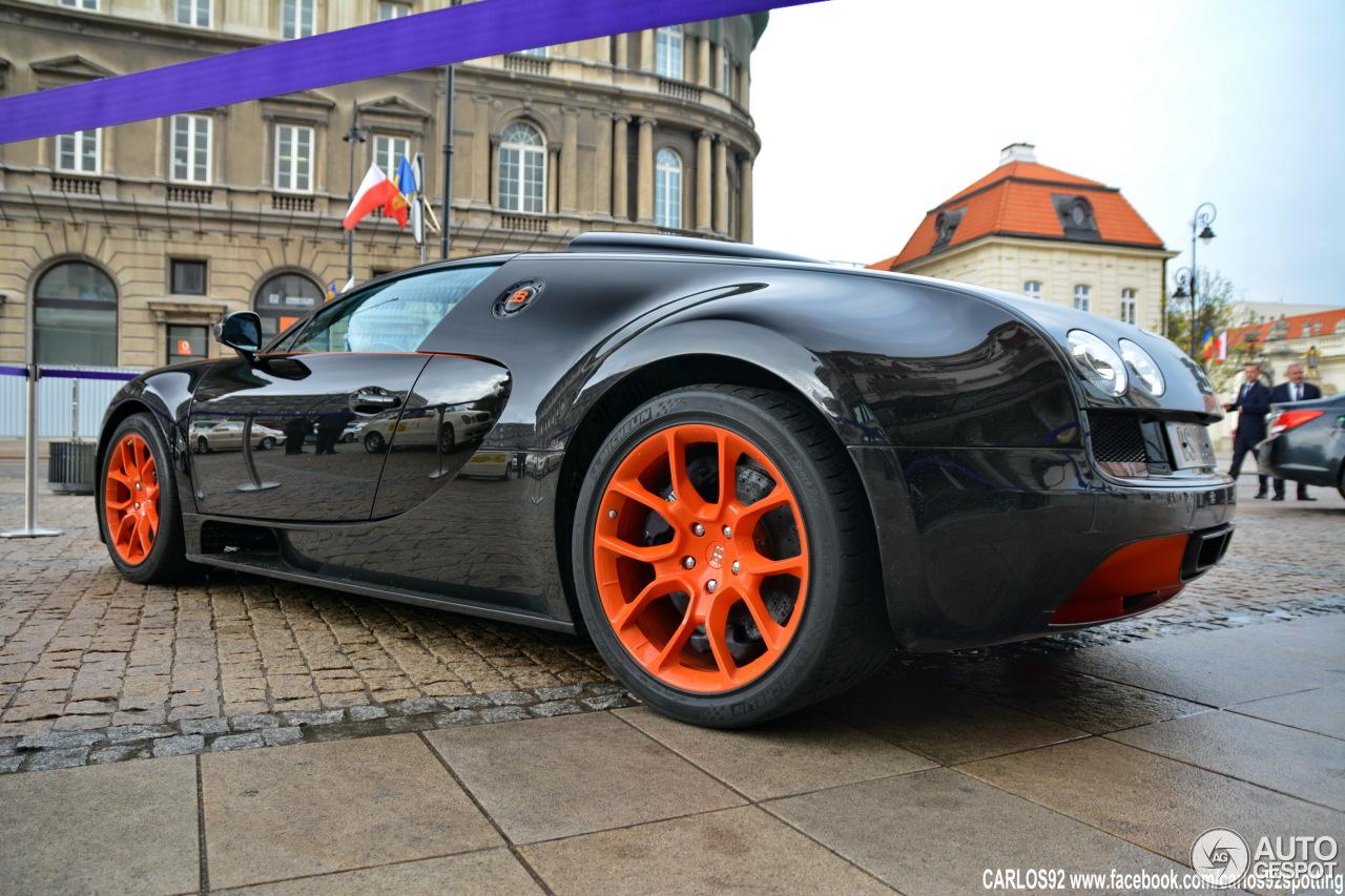 Bugatti Veyron 16.4 Grand Sport Vitesse World Record Car Edition